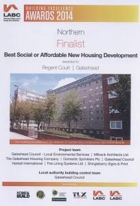 Gateshead Council Certificate